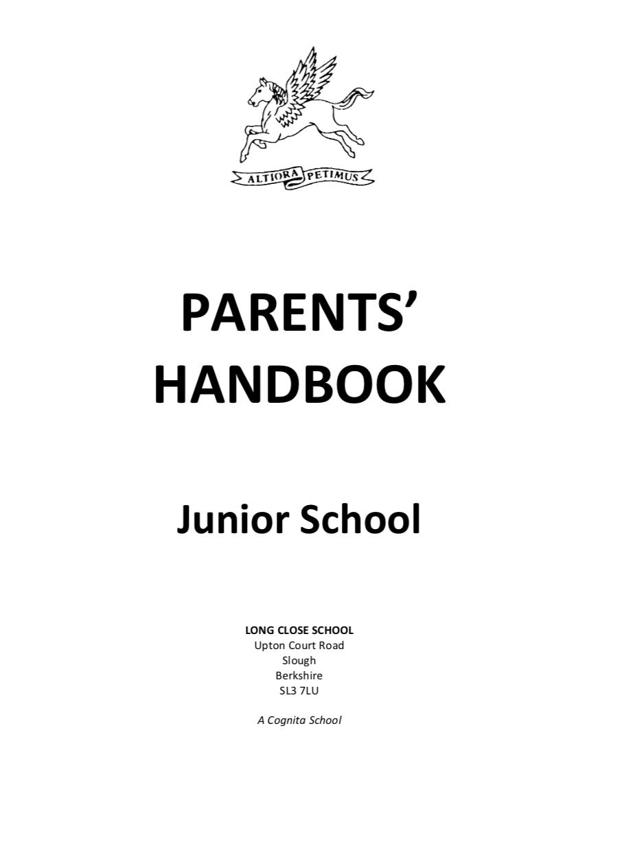 Parents' Handbook - Junior School