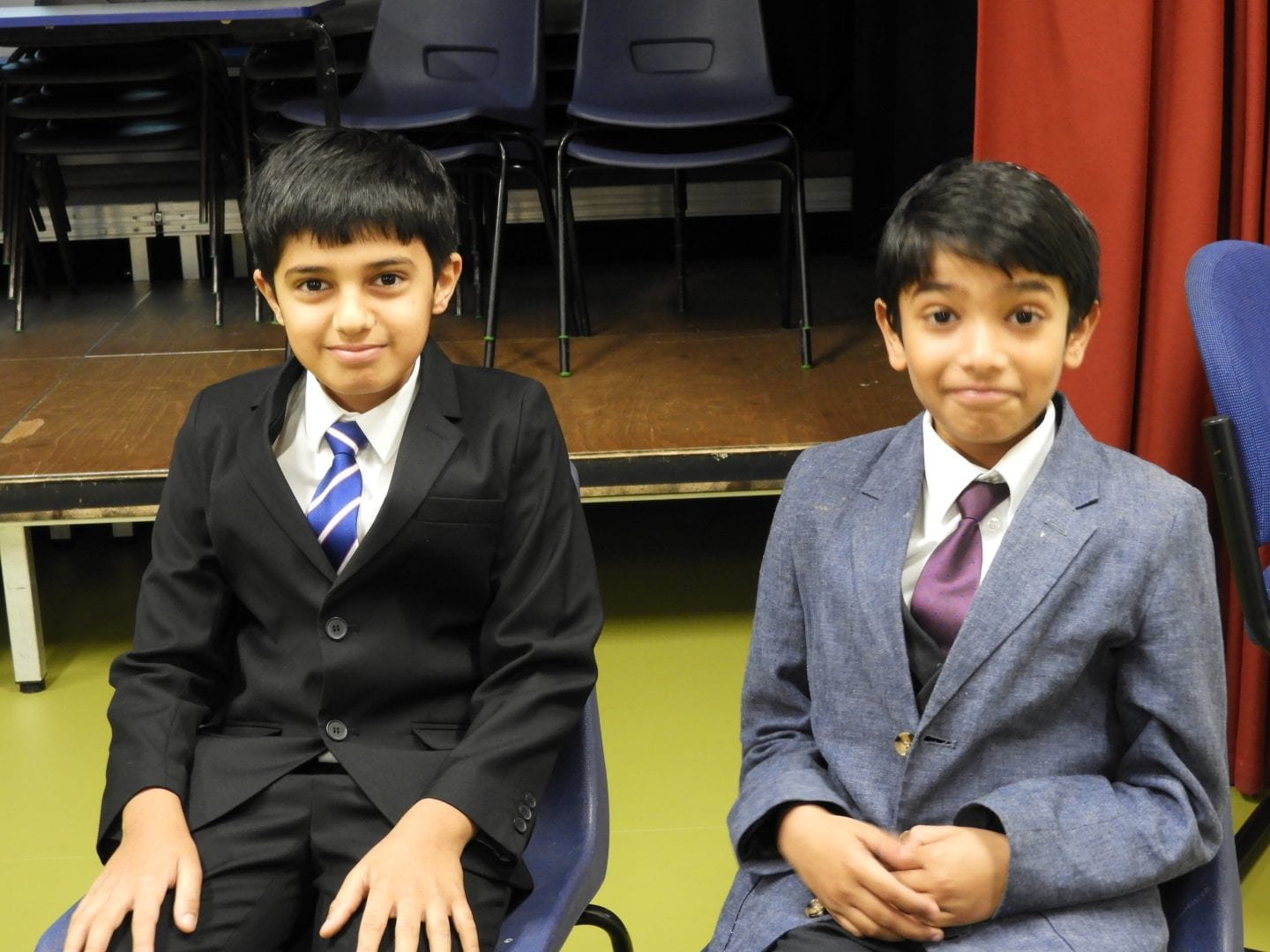 LCS pupils on Headteacher for the Day